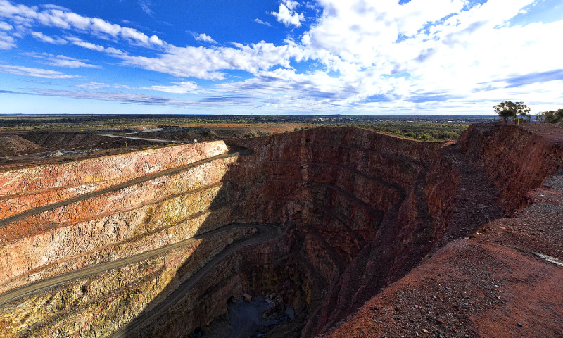 Cobar, Open Cut Mine, Outback Australia Road Trip