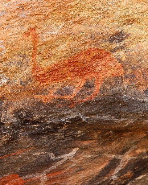 Mt Grenfell, Aboriginal Art, Outback Australia Road Trip