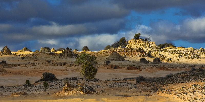 Mungo National Park, Walls of China, Outback Australia Road Trip