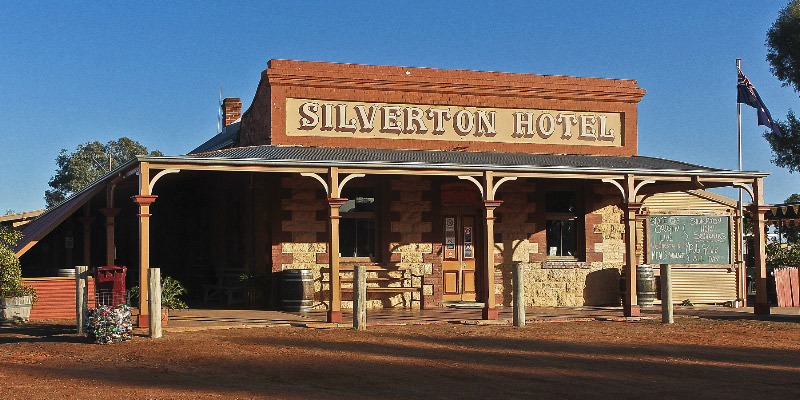 Silverton Hotel, Outback Australia Road Trip
